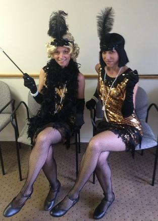 1920's Gatsby Girls duet or trio for 1920's roaring 20's theme parties or corporate events, strolling Gatsby Girls, sing 1920 jazza belt songs, teach clarleston dance
