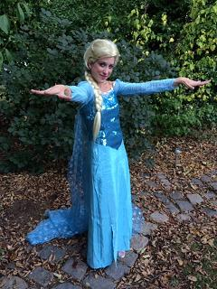 Princess Ariana- seasoned professional stage actress, singer and childrens entertainer, frozen Ice Queen performer for kids birthday parties in New Jersey