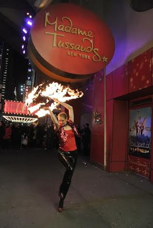 Emily- professional Fir Dancer, fire spinner