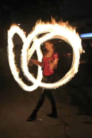 Emily- amazing Fire Spinner, fire dancer for all occasions, private parties, corporate events, promotions