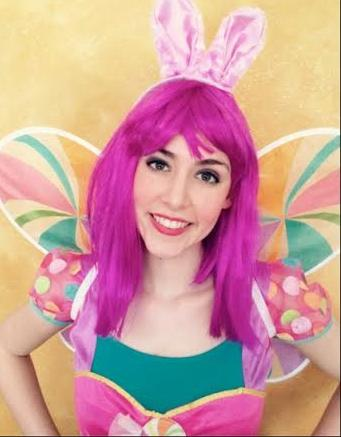 For something unqiue and different hire the Easter Candy Fairy, professional actress and singer performs a very sweet show for the Easter holiday