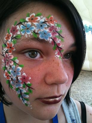 Fantasy face painting for children's birthday parties, Sweet 16 parties, corporate events, festivals, grand openings, street fairs, schools, summer camps