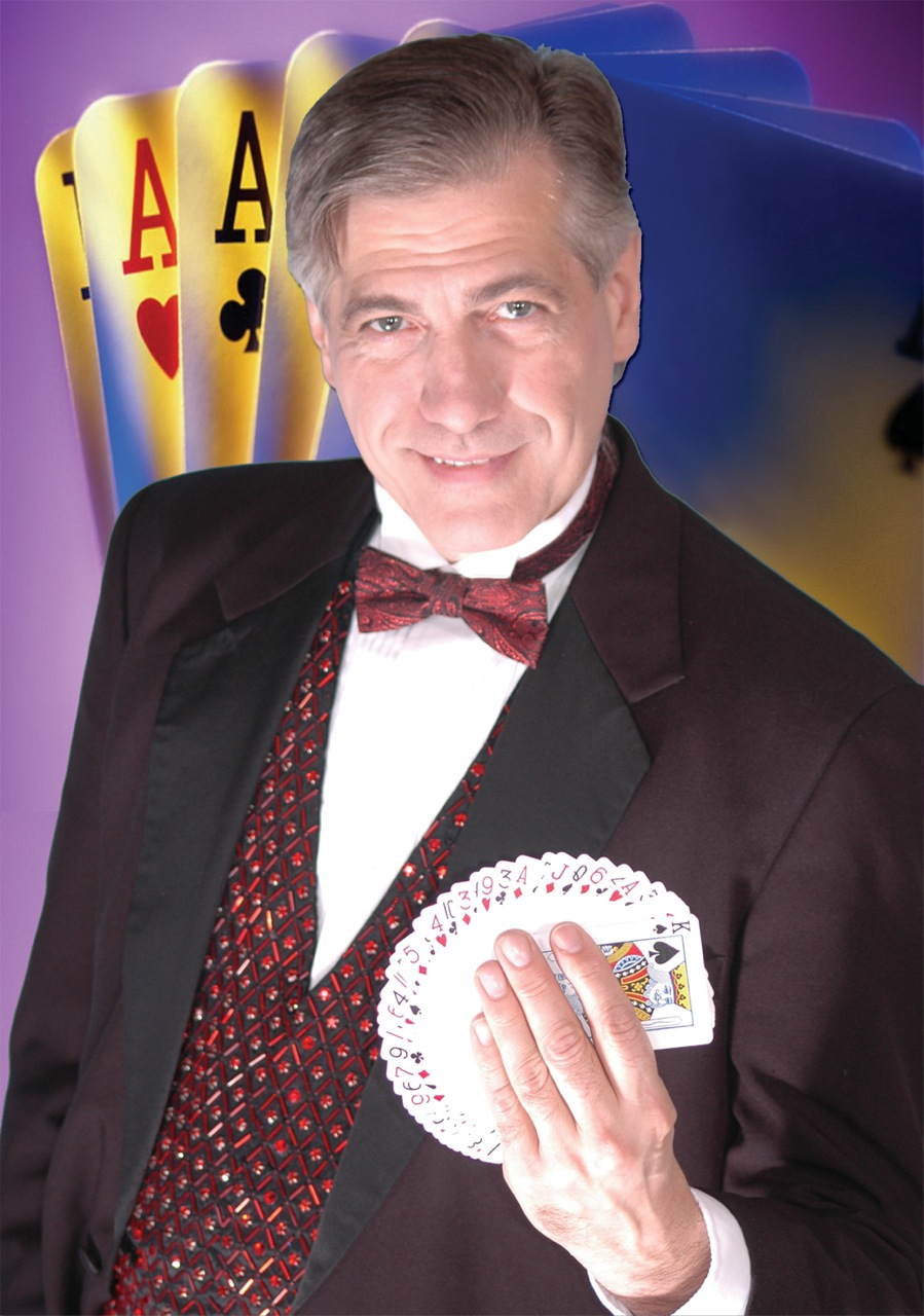 Rob- top award-winning corporate Magician, sleight of hand close up magic, strolling corporate magician, comic presentation, amazing juggling feats, variety costume wardrobe, top entertainer for kids, teens and adults