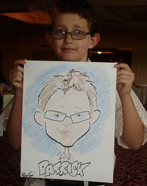 Rob- professional caricaturist for any occasion parties