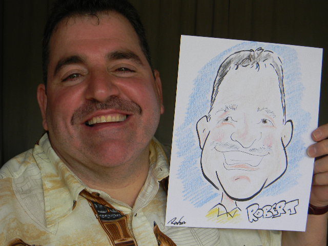 Ron- professional artist and caricaturist draws cartoon likenesses of your party guests, for children's parties, communions. holiday parties, and corporate events
