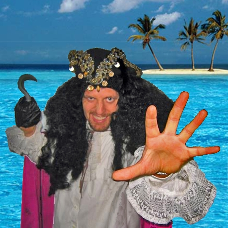 Kid's Pirate Adventure Show featuring professional character actors, kids entertainers, storytellers, and magicians, NJ Pirate Magician