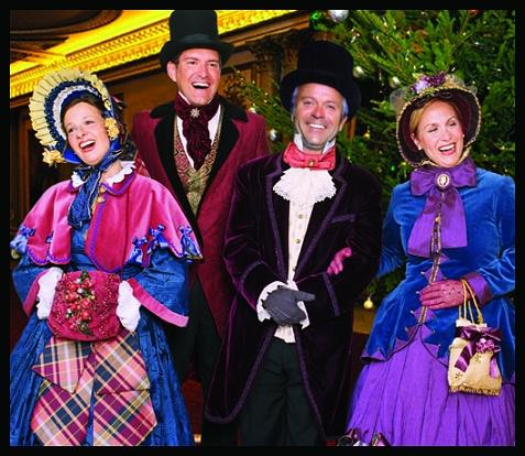 Dickens Holiday Christmas Carolers, strolling professinal singers harmonizers for holiday parties, corporate events, festivals, open house