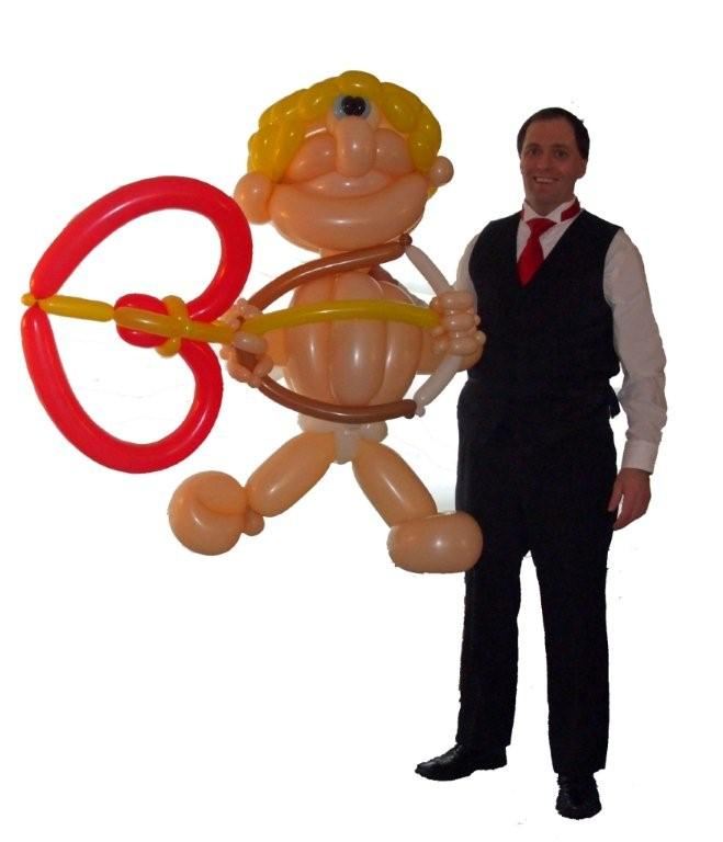 Professional Balloon Sculptor- creates special one-of-a-kind Valentine balloon sculpture for your sweetheart