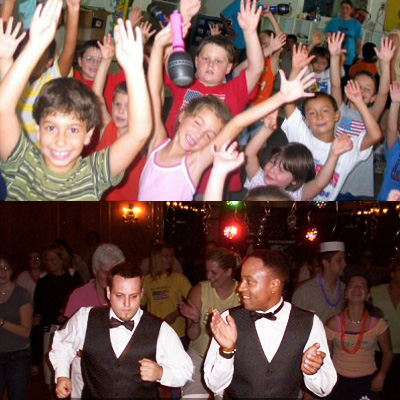 Kid's Party DJs, great sound equipment, interactive DJs with age-appropriate games, hula hoops, dance instruction and dance contest, for all ages, kid's dance party DJ in New Jersey