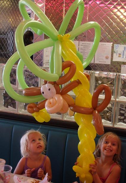 Master balloon sculptor, animal balloons, balloon twists balloon sculptures NJ, balloon artists